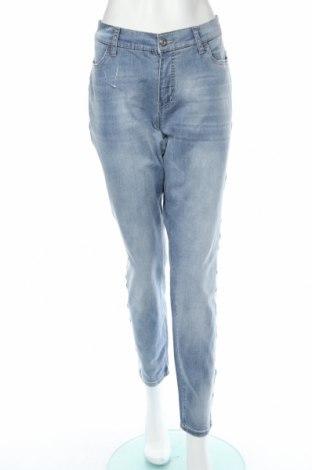 Blugi de femei Bodyflirt, Mărime XL, Culoare Albastru, 90% bumbac, 10% elastan, Preț 89,74 Lei