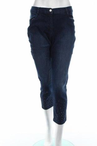 Γυναικείο Τζίν Bpc Bonprix Collection, Μέγεθος L, Χρώμα Μπλέ, 82% βαμβάκι, 17% πολυεστέρας, 1% ελαστάνη, Τιμή 14,20€