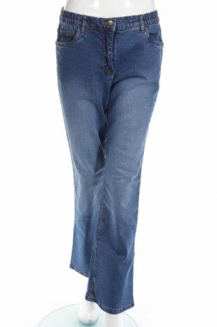 Дамски дънки Bpc Bonprix Collection, Размер M, Цвят Син, 98% памук, 2% еластан, Цена 36,40лв.