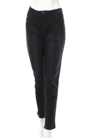 Dámské džíny  John Baner, Rozměr XL, Barva Modrá, 98% bavlna, 2% elastan, Cena  278,00Kč