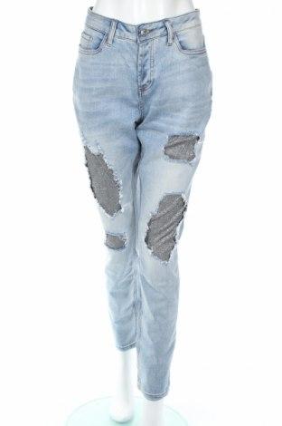 Dámské džíny  Rainbow, Rozměr 5XL, Barva Modrá, 98% bavlna, 2% elastan, Cena  415,00Kč