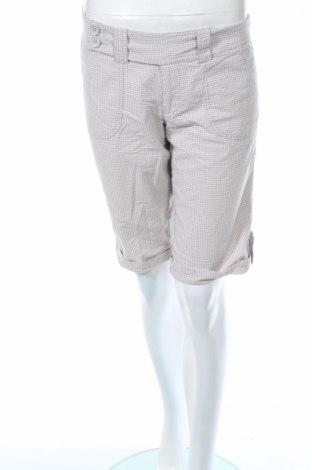 Дамски къс панталон Ann Christine, Размер M, Цвят Сив, 76% памук, 20% полиестер, 4% еластан, Цена 5,78лв.