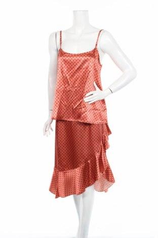 Дамски комплект Boohoo, Размер L, Цвят Оранжев, 97% полиестер, 3% еластан, Цена 10,20лв.