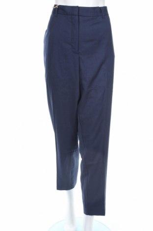 Γυναικείο παντελόνι Bpc Bonprix Collection, Μέγεθος XXL, Χρώμα Μπλέ, 64% πολυεστέρας, 21% βισκόζη, 15% μαλλί, Τιμή 12,53€