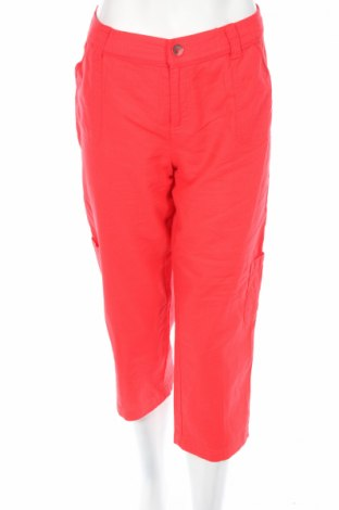 Дамски панталон Charles Vogele, Размер M, Цвят Розов, 55% лен, 45% памук, Цена 5,51лв.