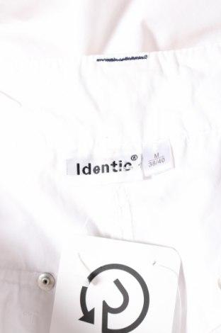 Дамски панталон Identic, Размер M, Цвят Бял, 45% полиестер, 35% памук, 20% полиамид, Цена 7,06лв.
