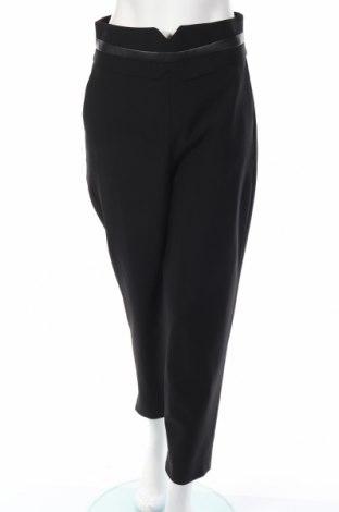 Pantaloni de femei Karen Millen, Mărime M, Culoare Negru, Lână, poliamidă, elastan, piele ecologică, Preț 178,79 Lei