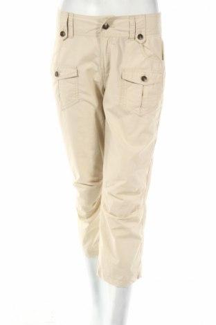 Дамски панталон One By One, Размер S, Цвят Бежов, Памук, Цена 5,75лв.