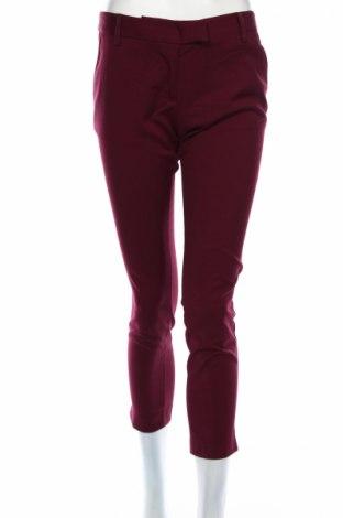 Γυναικείο παντελόνι Sisley, Μέγεθος S, Χρώμα Βιολετί, 64% πολυεστέρας, 33% βισκόζη, 3% ελαστάνη, Τιμή 4,02€