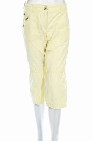 Дамски панталон Street One, Размер L, Цвят Жълт, Цена 5,51лв.