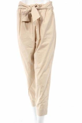 Дамски панталон Zara, Размер M, Цвят Бежов, Цена 18,48лв.