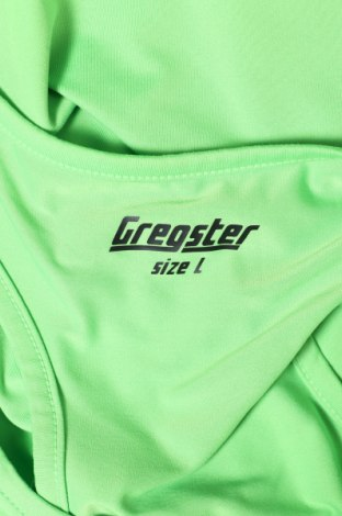 Дамски потник Gregster, Размер L, Цвят Зелен, 88% полиестер, 12% еластан, Цена 3,24лв.