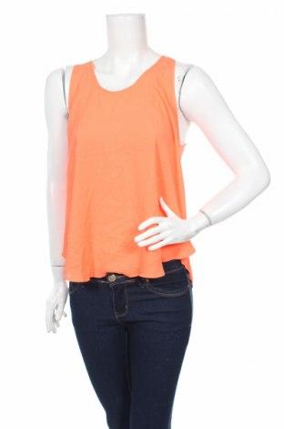 Γυναικείο αμάνικο μπλουζάκι Lush, Μέγεθος M, Χρώμα Πορτοκαλί, Πολυεστέρας, Τιμή 1,59€