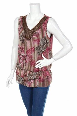 Γυναικείο αμάνικο μπλουζάκι Zac & Rachel, Μέγεθος S, Χρώμα Πολύχρωμο, Πολυεστέρας, Τιμή 3,49€