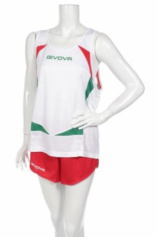 Дамски спортен екип Givova, Размер XL, Цвят Бял, Полиестер, Цена 27,90лв.