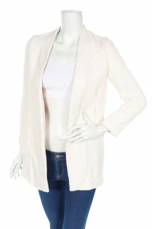 Дамско палто Zara, Размер M, Цвят Бял, Памук, Цена 26,00лв.