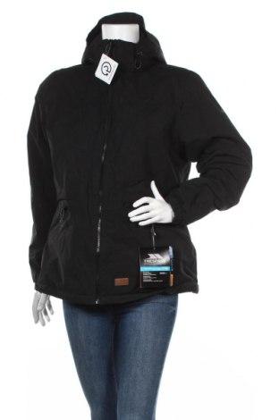 Дамско спортно яке Trespass, Размер L, Цвят Черен, Полиестер, Цена 47,26лв.