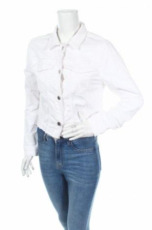 Geacă de femei Q/S by S.Oliver, Mărime S, Culoare Alb, 97% bumbac, 3% elastan, Preț 71,58 Lei