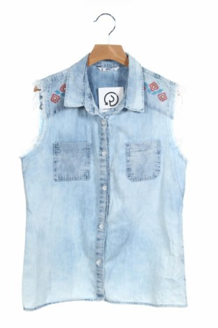 Detská košeľa , Veľkosť 12-13y/ 158-164 cm, Farba Modrá, Bavlna, Cena  6,12€
