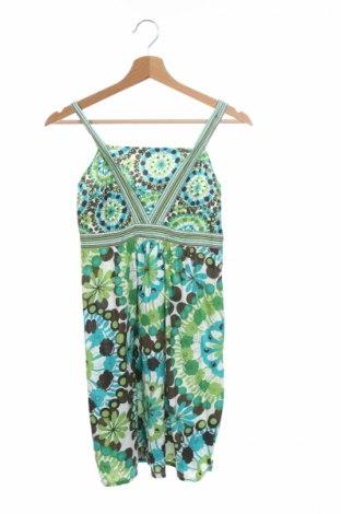 Детска рокля One By One, Размер 11-12y/ 152-158 см, Цвят Многоцветен, 100% памук, Цена 5,51лв.