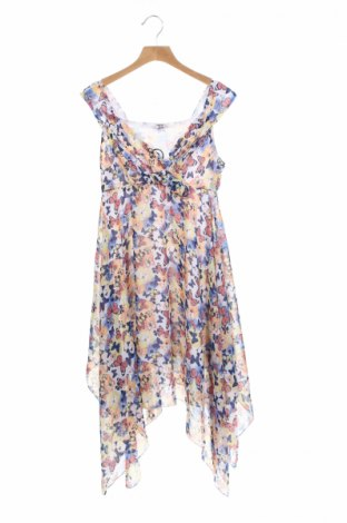 Детска рокля Y.F.K., Размер 12-13y/ 158-164 см, Цвят Многоцветен, Полиестер, Цена 7,09лв.