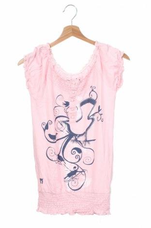 Tunică de copii Nh, Mărime 9-10y/ 140-146 cm, Culoare Roz, 50% bumbac, 50% modal, Preț 14,92 Lei