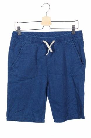 Παιδικό κοντό παντελόνι H&M, Μέγεθος 14-15y/ 168-170 εκ., Χρώμα Μπλέ, Βαμβάκι, Τιμή 9,94€
