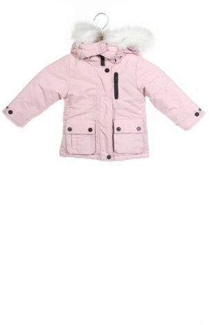 Детско яке Reserved, Размер 9-12m/ 74-80 см, Цвят Розов, Полиестер, Цена 41,60лв.