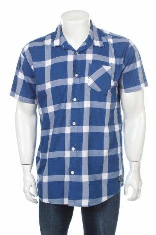 Мъжка риза Core By Jack & Jones, Размер XL, Цвят Син, Памук, Цена 6,04лв.