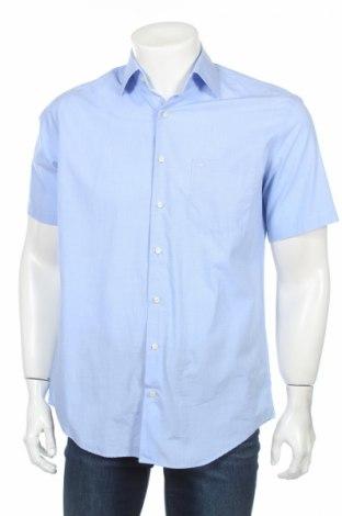 Мъжка риза Einhorn, Размер M, Цвят Син, Памук, Цена 4,46лв.