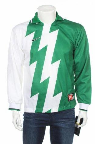 Bluză trening de bărbați Nike, Mărime S, Culoare Verde, 100% poliester, Preț 58,21 Lei