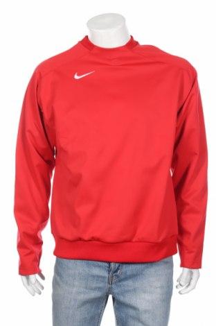 Bluză trening de bărbați Nike, Mărime L, Culoare Roșu, 100% poliester, Preț 260,53 Lei