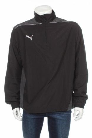 Bluză trening de bărbați PUMA, Mărime L, Culoare Negru, 100% poliester, Preț 97,11 Lei