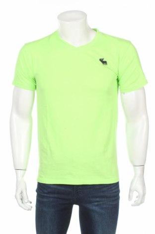Tricou de bărbați Abercrombie & Fitch, Mărime M, Culoare Verde, Preț 48,08 Lei