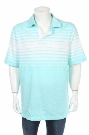 Мъжка тениска Bpc Bonprix Collection, Размер 3XL, Цвят Син, Памук, Цена 9,45лв.