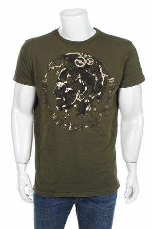 Tricou de bărbați Diesel, Mărime XXL, Culoare Verde, Bumbac, Preț 101,47 Lei