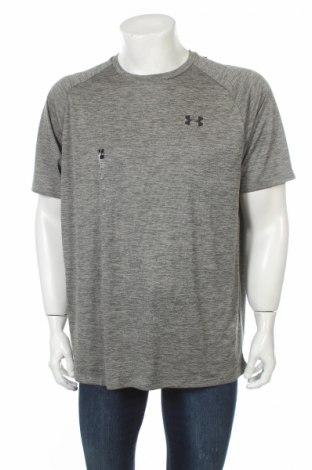 Мъжка тениска Under Armour, Размер XL, Цвят Зелен, Полиестер, Цена 51,75лв.
