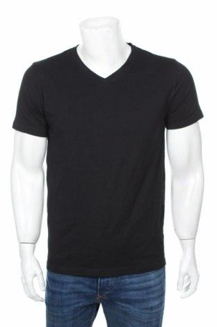 Мъжка тениска Watson's, Размер M, Цвят Черен, Памук, Цена 12,60лв.