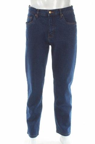 Męskie jeansy John Baner, Rozmiar L, Kolor Niebieski, 97% bawełna, 3% elastyna, Cena 52,00zł
