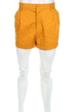 Pánske kraťasy , Veľkosť L, Farba Oranžová, 50% bavlna, 50% polyester, Cena  3,86€