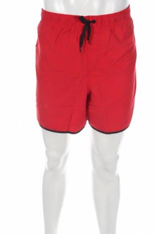 Мъжки къс панталон Bpc Bonprix Collection, Размер XL, Цвят Червен, Полиестер, Цена 18,56лв.