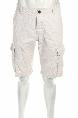 Мъжки къс панталон H&M L.o.g.g, Размер M, Цвят Бял, Памук, Цена 4,73лв.