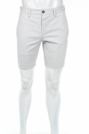 Мъжки къс панталон River Island, Размер M, Цвят Сив, 97% памук, 3% еластан, Цена 11,34лв.