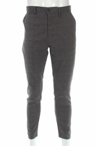 Мъжки панталон Brave Soul, Размер L, Цвят Сив, 65% полиестер, 33% вискоза, 2% еластан, Цена 15,12лв.