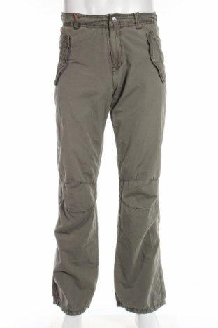 Мъжки панталон Buffalo, Размер S, Цвят Зелен, Памук, Цена 9,25лв.