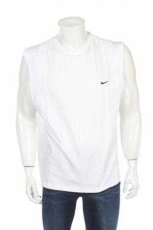 Maiou bărbătesc Nike, Mărime XL, Culoare Alb, 100% bumbac, Preț 155,26 Lei
