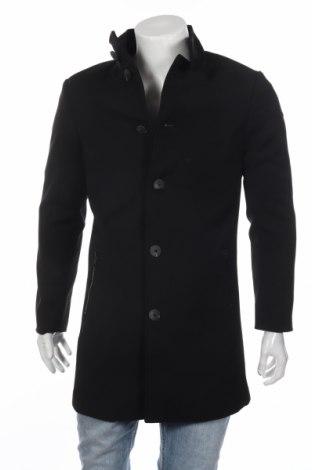 Мъжко палто Mc Neal, Размер S, Цвят Черен, 97% полиестер, 3% еластан, Цена 107,40лв.
