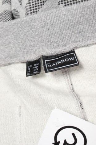 Мъжко спортно долнище Rainbow, Размер XL, Цвят Сив, 85% памук, 15% полиестер, Цена 31,50лв.