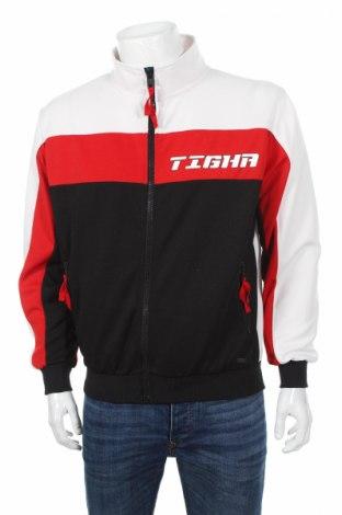 Мъжко спортно горнище Tigha, Размер L, Цвят Многоцветен, 100% полиестер, Цена 81,95лв.