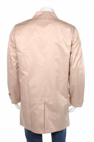 Мъжко палто Rainbow, Размер L, Цвят Бежов, 64% памук, 28% полиестер, 8% полиамид, Цена 48,72лв.